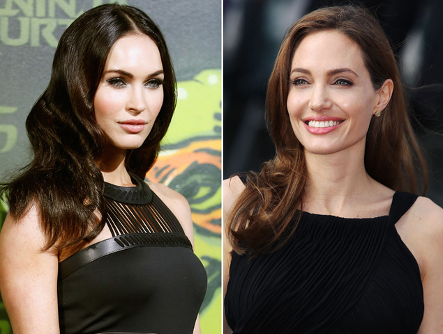 megan fox y angelina jolie