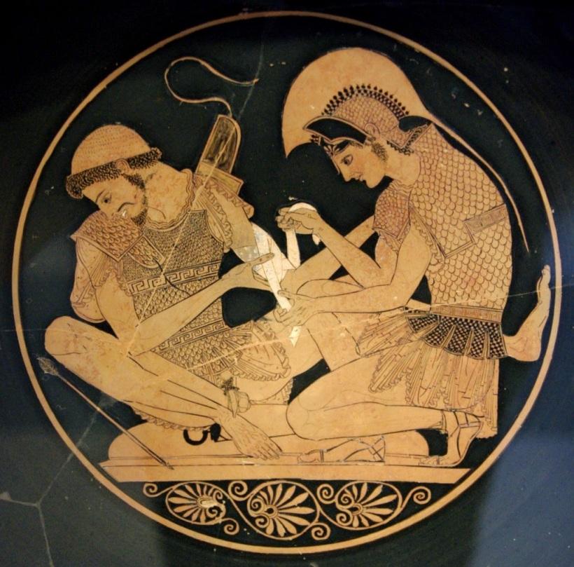Aquiles y  Patroclo