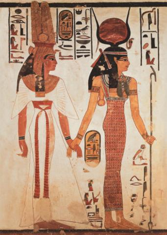 egipcios antiguos en la cama 10