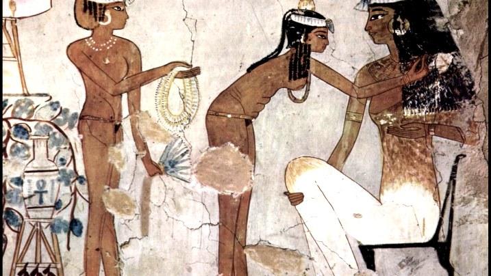 egipcios antiguos en la cama 4