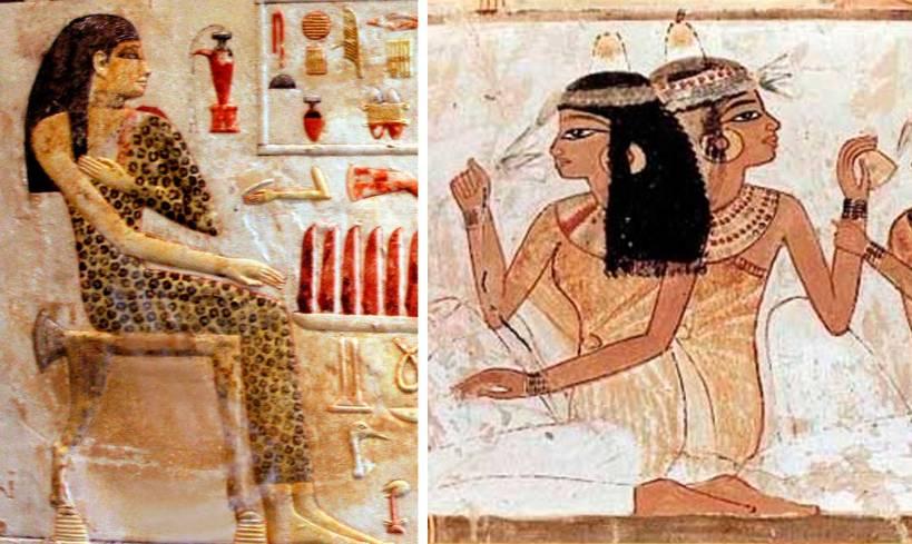 egipcios antiguos en la cama 5