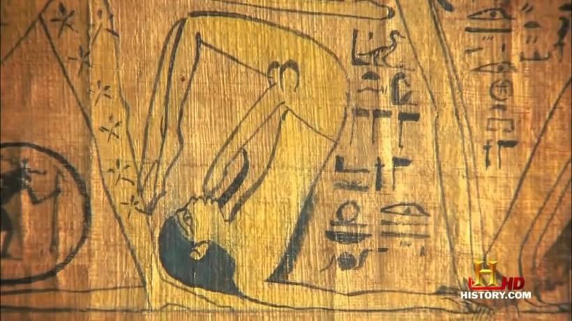 egipcios antiguos en la cama 9