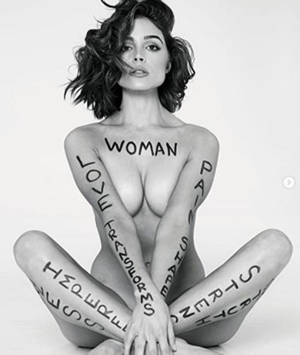ex-miss mundo se desnuda en revista deportiva